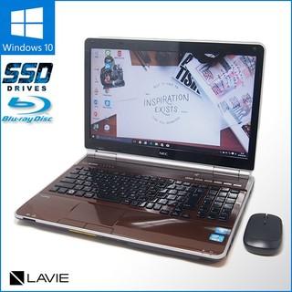 エヌイーシー(NEC)の数量限定無線マウスセット Windows10搭載 ノートPC NEC GL235(ノートPC)