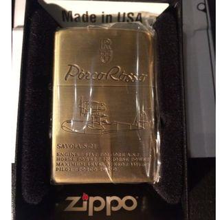 ジッポー(ZIPPO)の新品 Zippo紅の豚 SAVOIA サボイア S-21 2NZ-06(タバコグッズ)
