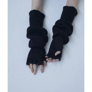 マメ(mame)のTAN FINGERLESS GLOVES グローブ 手袋(手袋)