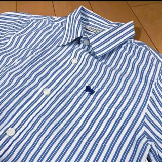 オールドネイビー(Old Navy)のオールドネイビーストライプレディースコットンシャツ(シャツ/ブラウス(長袖/七分))