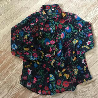 パナマボーイ(PANAMA BOY)の花柄 古着 シャツ(シャツ/ブラウス(長袖/七分))