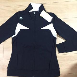 DESCENTE - M新品定価17600円デサントゴルフストレッチ ジャケットカットソー