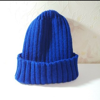 ジーユー(GU)のGU ジーユー ニット帽(ニット帽/ビーニー)