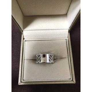 ポンテヴェキオ(PonteVecchio)の【確認用】ポンテヴェキオ K18WG ハートリング ダイヤモンド 0.44ct (リング(指輪))