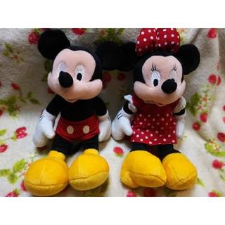 ディズニー(Disney)のDisney ミニー & ミニー ぬいぐるみ(ぬいぐるみ)
