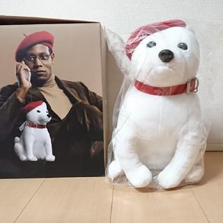 ソフトバンク(Softbank)の非売品☆しゃべるお父さんBIGストラップ☆ソフトバンク犬☆SoftBank(ノベルティグッズ)