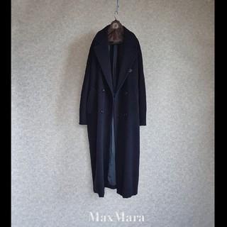 マックスマーラ(Max Mara)の超高級 マックスマーラ 最高級白タグ 憧れのアイコンコート 伝統ビッグシルエット(チェスターコート)