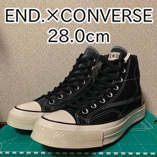 コンバース(CONVERSE)のEND.×CONVERSE Chuck Taylor 70 CT70 28.0(スニーカー)