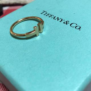ティファニー(Tiffany & Co.)のティファニーTリング 18号(リング(指輪))