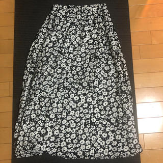 花柄スカート(ロングスカート)