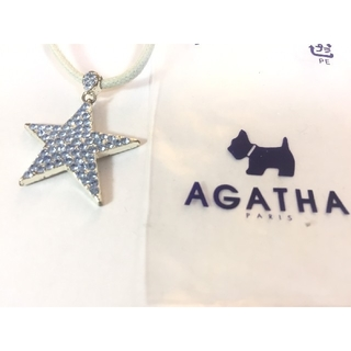アガタ(AGATHA)の〈アガタ〉 ラインストーン星形ネックレス(ネックレス)