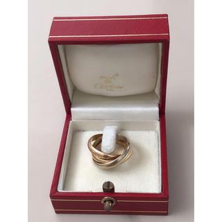 カルティエ(Cartier)のN164 カルティエ 3連リング 52# トリニティ スリーカラー 7.7g(リング(指輪))