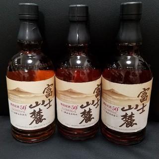 キリン(キリン)の富士山麓 樽熟原酒50゜700ml 新品 3本セット(ウイスキー)