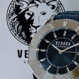 ヴェルサーチ(VERSACE)の◆世界限定品◆新品 高級VERSUS VERSACE 腕時計 ブラック(腕時計(アナログ))