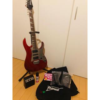 アイバニーズ(Ibanez)の【美品】Ibanez  ギター!アンプセット!(エレキギター)