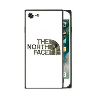 ザノースフェイス(THE NORTH FACE)のノースフェイス スクエア ガラスケース iPhoneケース x4u4y(iPhoneケース)