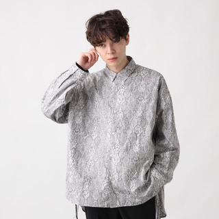 HARE - HARE パイソン シャツ