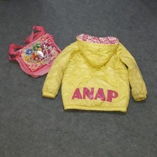 ANAP - お子ちゃま(姫)サイズ110☆ ANAPジャンバー&プリキュアバッグ