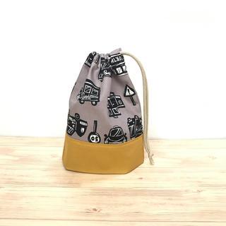 コップ袋 自動車 1(バッグ/レッスンバッグ)