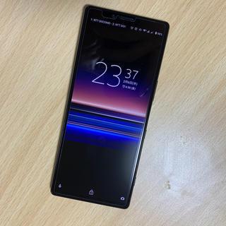 ソニー(SONY)のほぼ新品 xperia1 128gb simフリー 海外モデル 4台(スマートフォン本体)