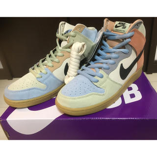 "ナイキ(NIKE)のNIKE SB DUNK HIGH ""Easter/Spectrum""(スニーカー)"