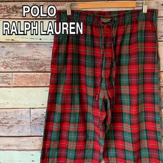 ポロラルフローレン(POLO RALPH LAUREN)のポロ ラルフローレン 90s パジャマパンツ イージーパンツ 総柄 チェック柄(その他)
