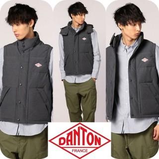 DANTON - ★美品★ ダントン ダウン ベスト 42