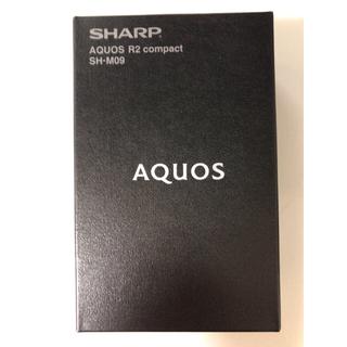 シャープ(SHARP)のAQUOS R2 compact SH-M09 ピュアブラック 35台(スマートフォン本体)