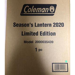 コールマン(Coleman)の送料込み シーズンズランタン 2020 リミテッドエディション(ライト/ランタン)