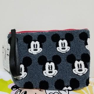 ミッキーマウス(ミッキーマウス)の新品未使用品 ミッキー ポーチ タオル地 東京ディズニーリゾート(ポーチ)