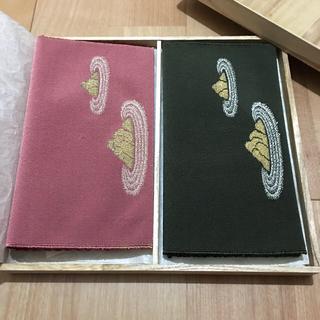 枯山水 刺繍 つづれ織り 袱紗 セット(礼服/喪服)