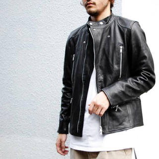 nonnative - nonnative16AW BIKER BLOUSON COW LEATHER