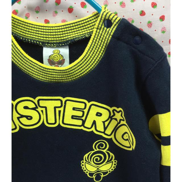 HYSTERIC MINI(ヒステリックミニ)の美品☆  ヒステリックミニ  hysteric  ワンピース  サイズ80 キッズ/ベビー/マタニティのベビー服(~85cm)(ワンピース)の商品写真