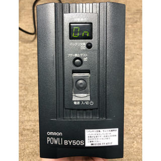 オムロン(OMRON)のオムロン BY50S 無停電電源装置 UPS(PC周辺機器)