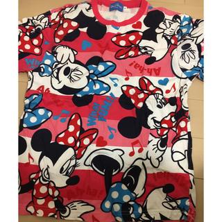 ディズニー(Disney)のTシャツ  総柄(Tシャツ(半袖/袖なし))