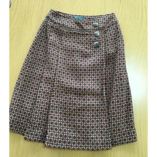 フェリシモ(FELISSIMO)のレディース 台形スカート(ひざ丈スカート)