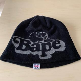 アベイシングエイプ(A BATHING APE)のアベイシングエイプ A BATHING APE 帽子 ニットキャップ ビーニー(ニット帽/ビーニー)