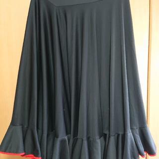 CHACOTT - フラメンコファルダ(ブラック)