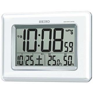 セイコー(SEIKO)の★新品★セイコー クロック 掛け時計 置き時計 電波 デジタル SQ424W(置時計)