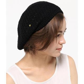 マッキントッシュフィロソフィー(MACKINTOSH PHILOSOPHY)のMACKINTOSH PHILOSOPHY ベレー帽 ブラック / X(ハンチング/ベレー帽)