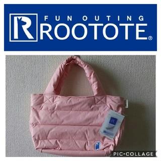 ルートート(ROOTOTE)の新品 ルートート☆フェザー 軽量 トートバッグ ピンク(トートバッグ)