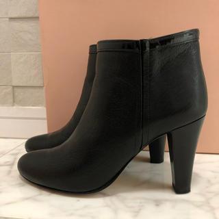 アパルトモンドゥーズィエムクラス(L'Appartement DEUXIEME CLASSE)のクローラ ショートブーツ 23〜23.5くらい(ブーツ)