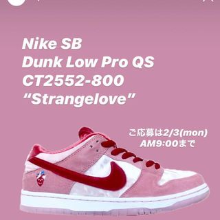 ナイキ(NIKE)のNIKE SB DUNK LOW PRO STRANG LOVE (スニーカー)