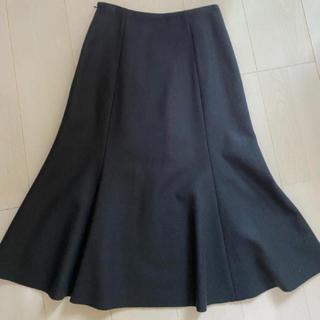 トゥモローランド(TOMORROWLAND)のBallsey ウールマーメイドスカート(ひざ丈スカート)