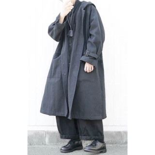 1LDK SELECT - EASY TO WEAR(19AW)/イージートゥーウェアHooded Coat