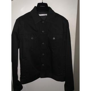 ジバンシィ(GIVENCHY)の正規品 GIVENCHY ジバンシィ デニムジャケット 黒 ブラック Lサイズ(Gジャン/デニムジャケット)
