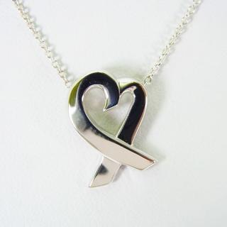 ティファニー(Tiffany & Co.)のティファニー 925 ラビングハート ペンダント ネックレス[g148-9](ネックレス)