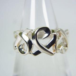 ティファニー(Tiffany & Co.)のティファニー 925 トリプルラビングハート リング 9号[g148-7](リング(指輪))