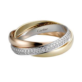 カルティエ(Cartier)のCartier カルティエ トリニティリングSM(リング(指輪))