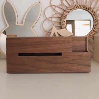 アクタス(ACTUS)の木製ティッシュケース(ティッシュボックス)